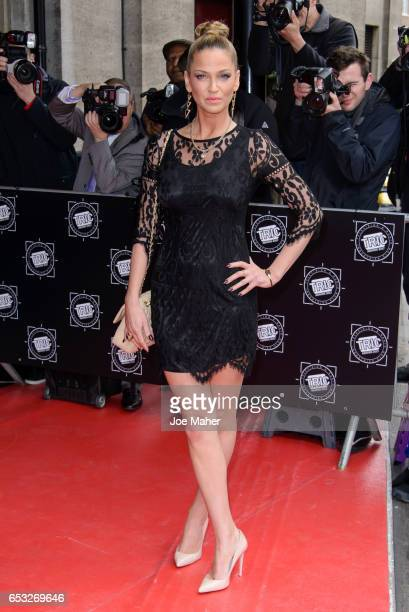 Sarah Harding attends the TRIC Awards 2017 on March 14 2017 in London United Kingdom