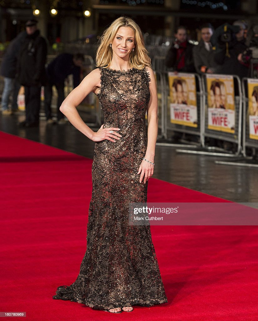 <a gi-track='captionPersonalityLinkClicked' href=/galleries/search?phrase=Sarah+Harding&family=editorial&specificpeople=202916 ng-click='$event.stopPropagation()'>Sarah Harding</a> attends the UK premiere of 'Run For Your Wife' at Odeon Leicester Square on February 5, 2013 in London, England.