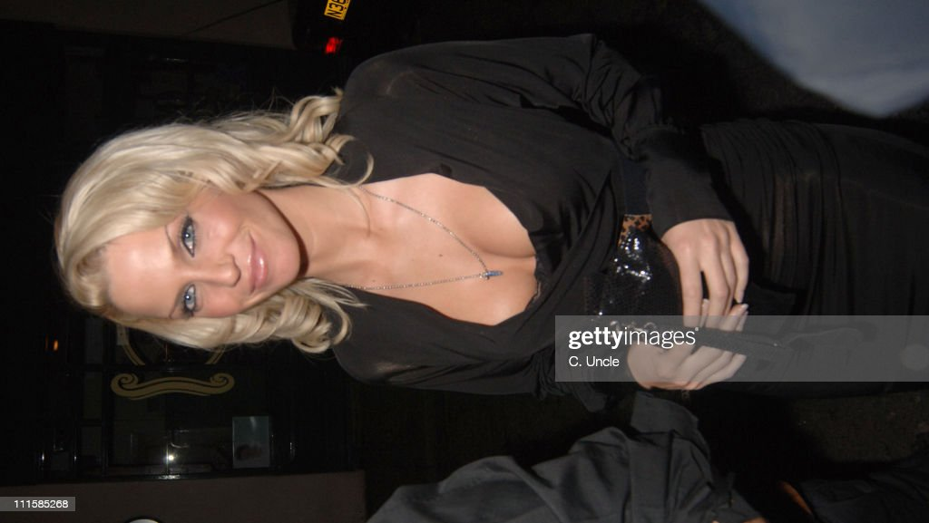 <a gi-track='captionPersonalityLinkClicked' href=/galleries/search?phrase=Sarah+Harding&family=editorial&specificpeople=202916 ng-click='$event.stopPropagation()'>Sarah Harding</a> from <a gi-track='captionPersonalityLinkClicked' href=/galleries/search?phrase=Girls+Aloud&family=editorial&specificpeople=212984 ng-click='$event.stopPropagation()'>Girls Aloud</a> during Calum Best and <a gi-track='captionPersonalityLinkClicked' href=/galleries/search?phrase=Sarah+Harding&family=editorial&specificpeople=202916 ng-click='$event.stopPropagation()'>Sarah Harding</a> Sighting at Kilo Kitchen Bar in London - December 8, 2005 in London, Great Britain.