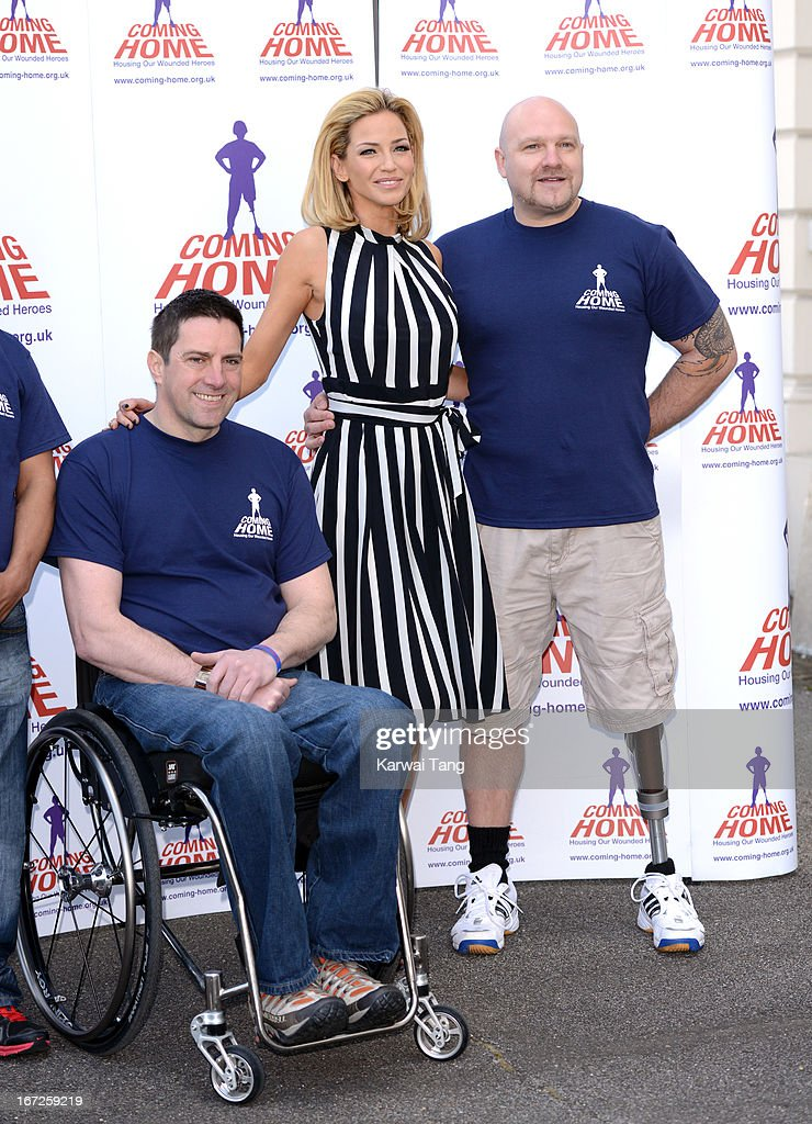 <a gi-track='captionPersonalityLinkClicked' href=/galleries/search?phrase=Sarah+Harding&family=editorial&specificpeople=202916 ng-click='$event.stopPropagation()'>Sarah Harding</a> is unveiled as the new ambassador for the armed forces charity 'Coming Home' at Royal College Of Defence Studies on April 23, 2013 in London, England.