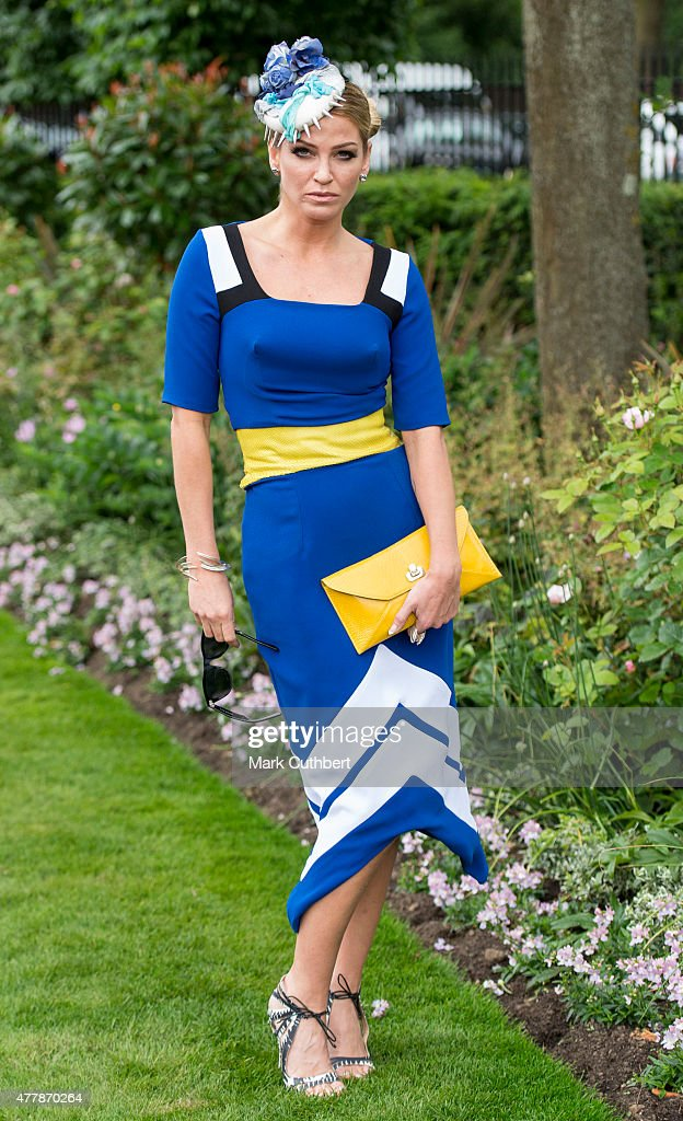 Sarah Harding on day 5 of Royal Ascot at Ascot Racecourse on June 20, 2015 in Ascot, England.