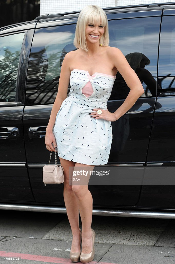 <a gi-track='captionPersonalityLinkClicked' href=/galleries/search?phrase=Sarah+Harding&family=editorial&specificpeople=202916 ng-click='$event.stopPropagation()'>Sarah Harding</a> pictured at the ITV studios on March 21, 2014 in London, England.