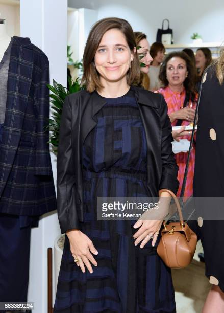 Sarah Hendler at Creatures of Comfort Celebrates Silverlake Opening hosted by Jade Lai Jenny Slate and Busy Philipps on October 19 2017 in Los...