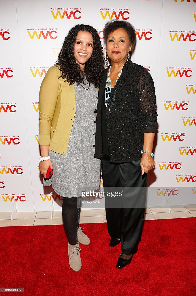Sarah Hoye and Carol Jenkins attend the 2012 Women's Media Awards at Guastavino's on November 13, 2012 in New York City.