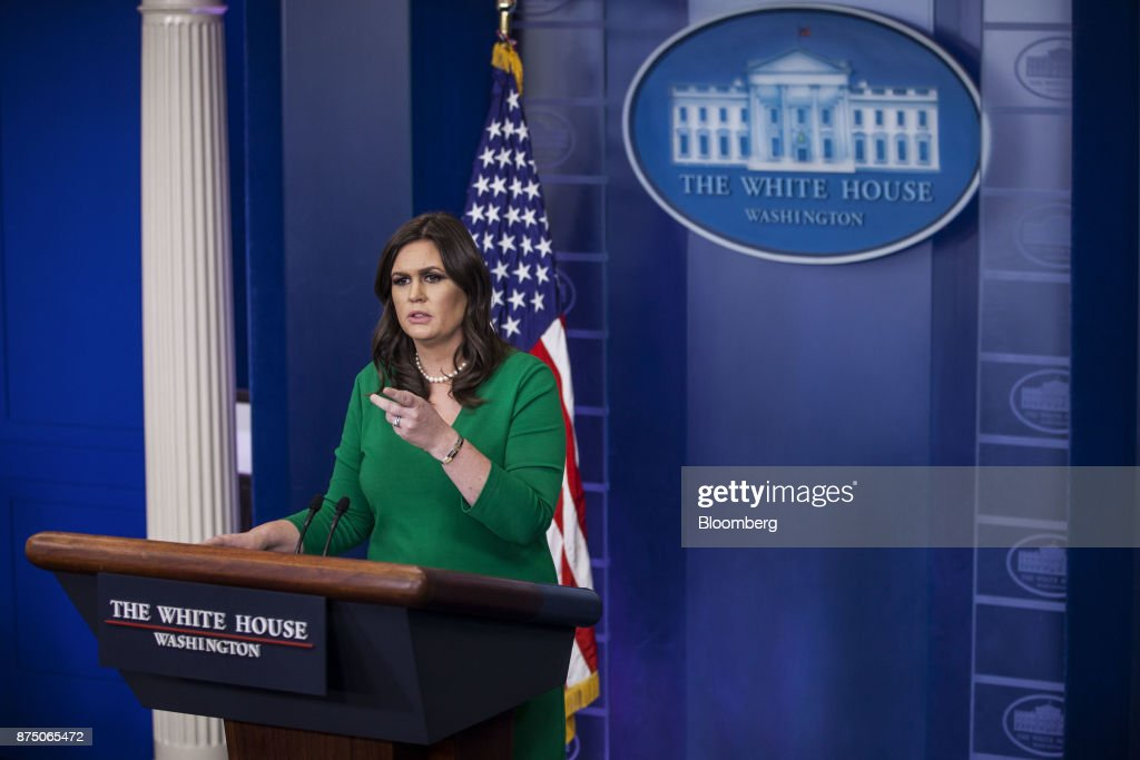 White House Press Secretary Sarah Huckabee Sanders Holds Press Briefing