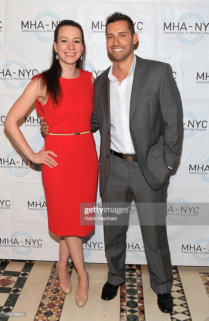 Sarah Hughes (L) and Actor Timothy Mandala attend Bridges To Mental Health: A Celebration Of Hope Gala at Cipriani 42nd Street on June 5, 2012 in New York City.