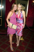 Sarah Hughes and Oksana Baiul during 'The Island' New York City Premiere Inside Arrivals at Ziegfeld Theater in New York City New York United States