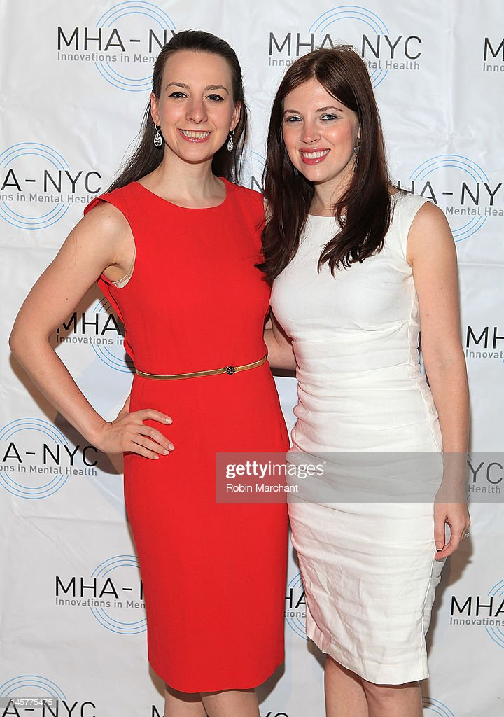 Sarah Hughes (L) and Rachael Kun attends Bridges To Mental Health: A Celebration Of Hope Gala at Cipriani 42nd Street on June 5, 2012 in New York City.