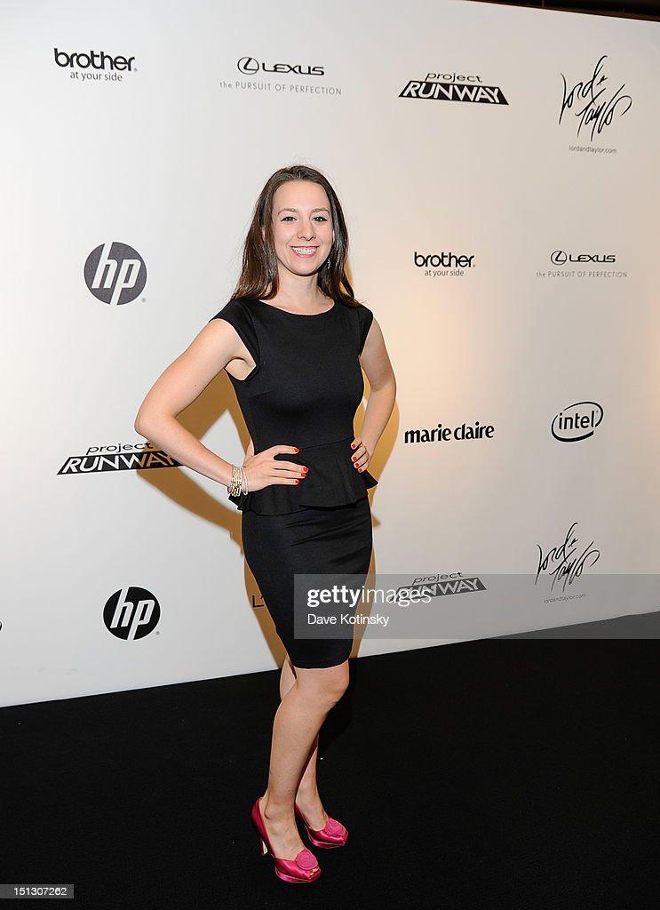 Sarah Hughes at Lord & Taylor on September 5, 2012 in New York City.