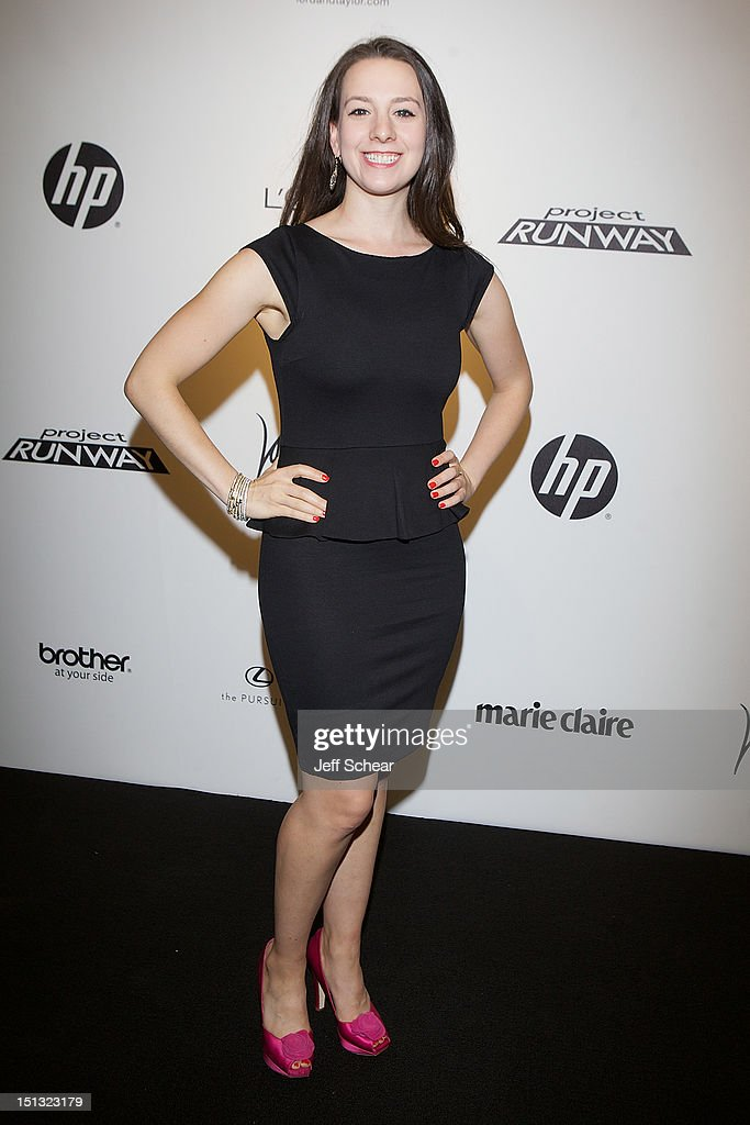 Sarah Hughes attends the Project Runway Season 10 Wrap Party at Lord & Taylor on September 5, 2012 in New York City.
