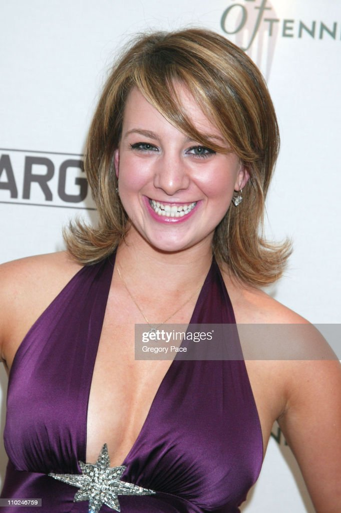 Sarah Hughes during Andre Agassi and Andy Roddick Hosts the 6th Annual ''Evian Taste of Tennis'' at W New York Hotel in New York City New York United...