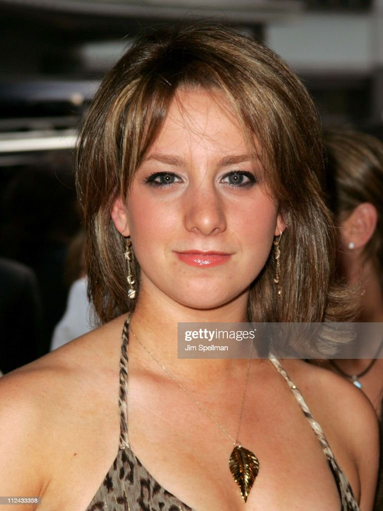 Sarah Hughes during 'Bad News Bears' New York City Premiere Outside Arrivals at Ziegfeld Theater in New York City New York United States
