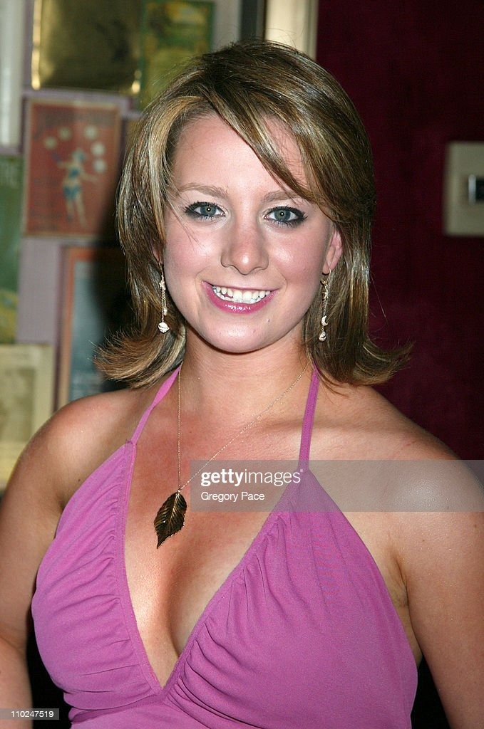 Sarah Hughes during 'The Island' New York City Premiere Inside Arrivals at Ziegfeld Theater in New York City New York United States