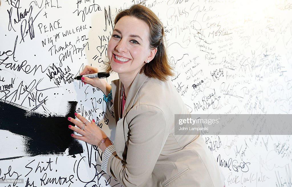 Sarah Hughes in conversation during AOL BUILD Speaker Series at AOL Studios In New York on June 9, 2015 in New York City.