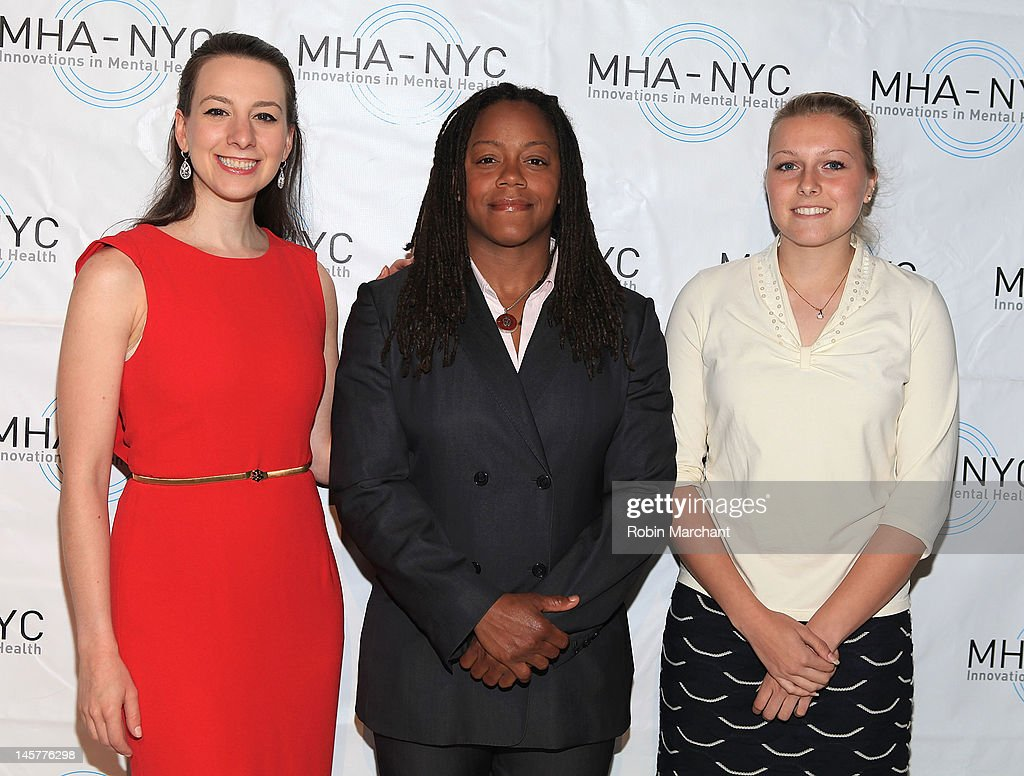Sarah Hughes, Phaidra Knight and Sarah Raine attend Bridges To Mental Health: A Celebration Of Hope Gala at Cipriani 42nd Street on June 5, 2012 in New York City.