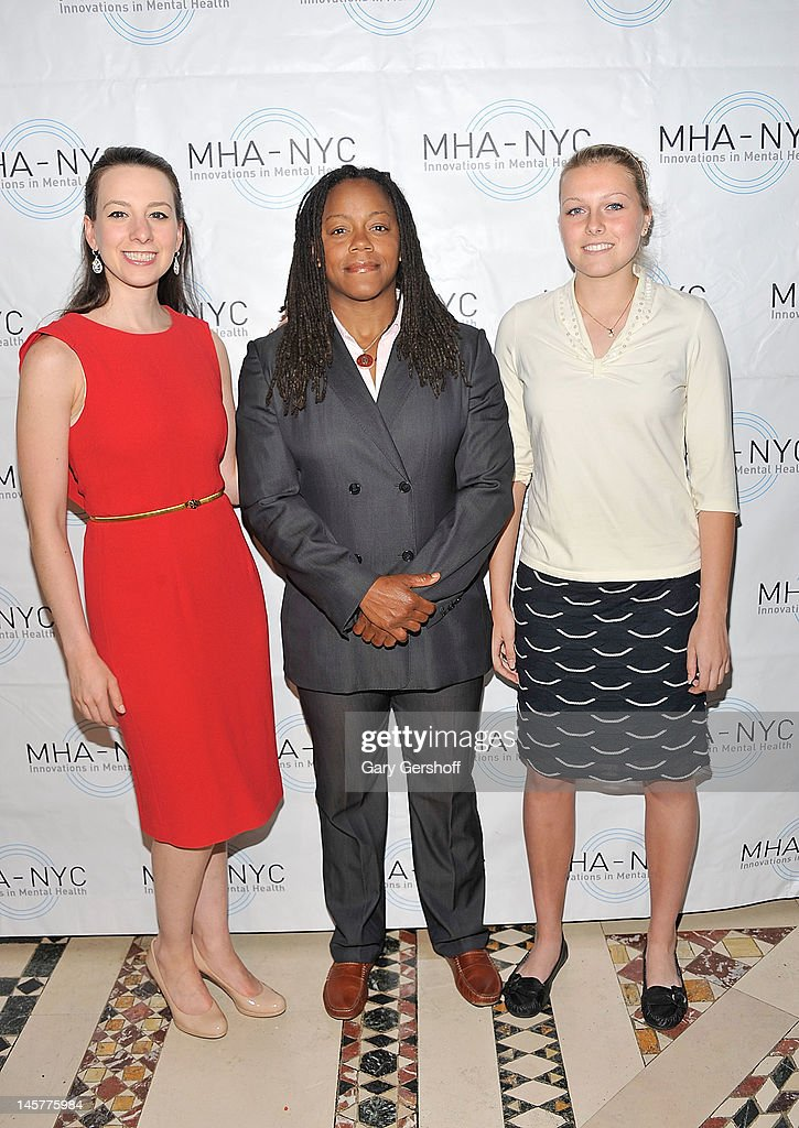 Sarah Hughes, Phaidra Knight and Sarah Rainey attend the 2012 Mental Health Association of New York City Celebration of Hope Gala at Cipriani 42nd Street on June 5, 2012 in New York City.
