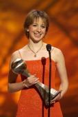 Sarah Hughes wins the 2002 ESPY for Best US Olympian