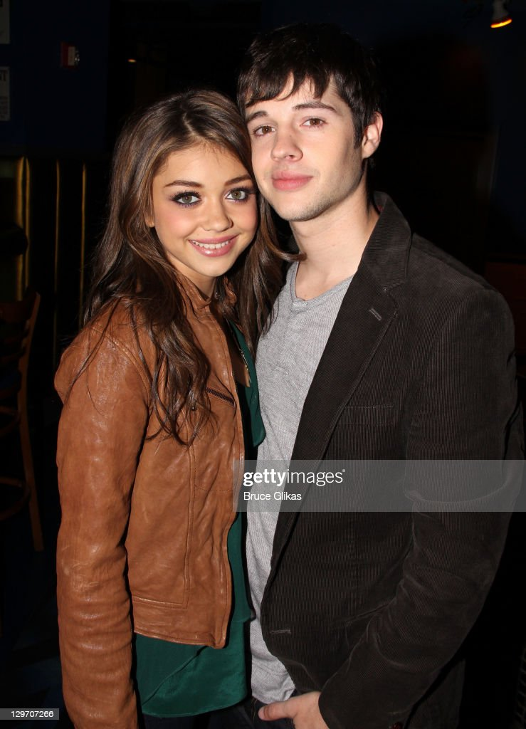 Sarah Hyland & Matt Prokop Visit Planet Hollywood Times Square