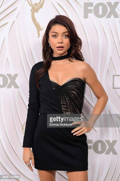 Sarah Hyland attends FOX Broadcasting Company Twentieth Century Fox Television FX And National Geographic 69th Primetime Emmy Awards After Party at...