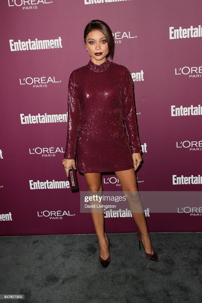 Sarah Hyland attends the Entertainment Weekly's 2017 Pre-Emmy Party at the Sunset Tower Hotel on September 15, 2017 in West Hollywood, California.