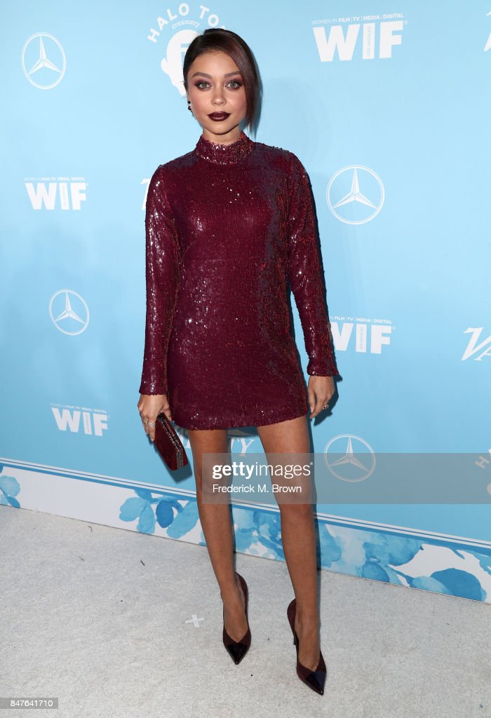 Sarah Hyland attends the Variety and Women In Film's 2017 Pre-Emmy Celebration at Gracias Madre on September 15, 2017 in West Hollywood, California.