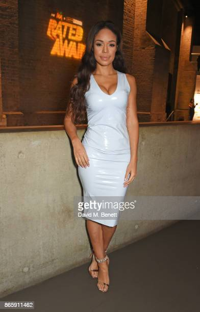 Sarah Jane Crawford attend The KA GRM Daily Rated Awards at The Roundhouse on October 24 2017 in London England