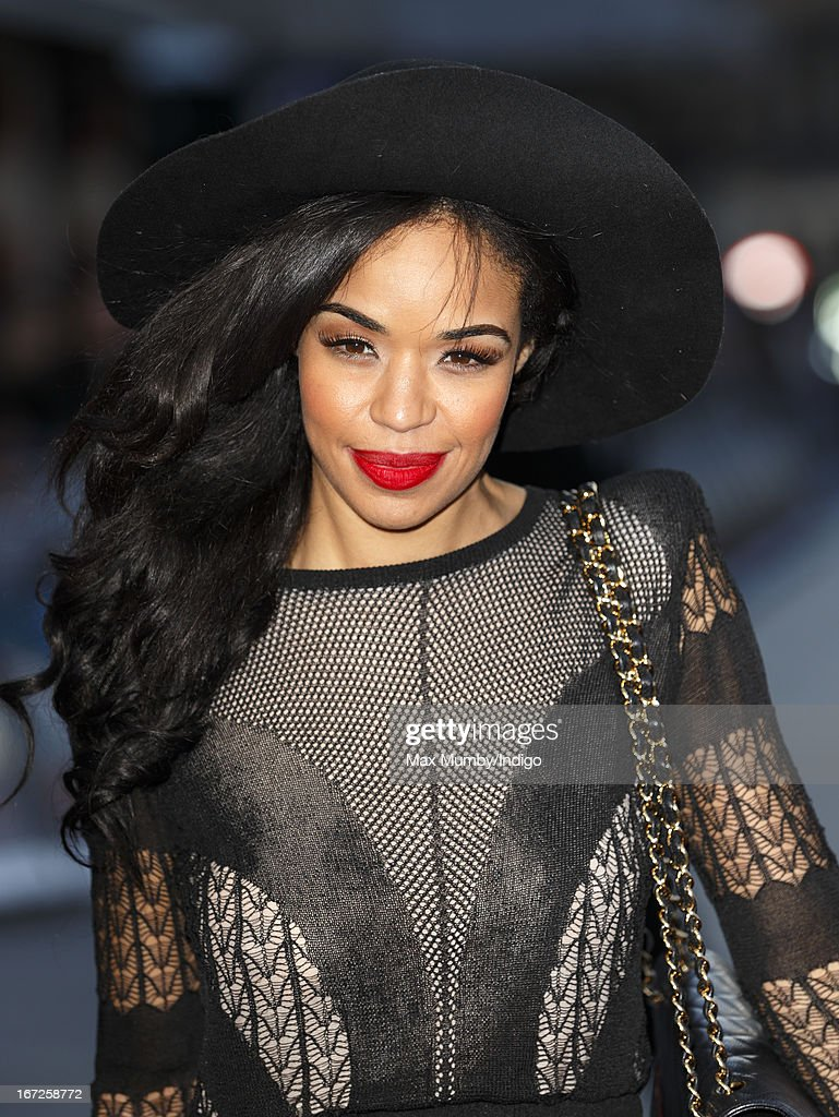 Sarah Jane Crawford attends a special screening of 'Iron Man 3' at Odeon Leicester Square on April 18, 2013 in London, England.