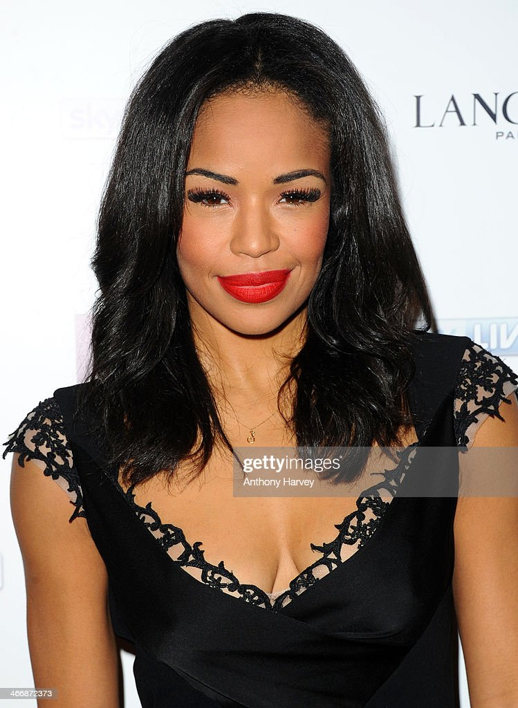 Sarah Jane Crawford attends InStyle magazine's The Best of British Talent pre-BAFTA party at Dartmouth House on February 4, 2014 in London, England.