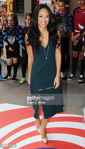 Sarah Jane Crawford attends The Annual ICAP Charity Day at ICAP on December 3 2014 in London England