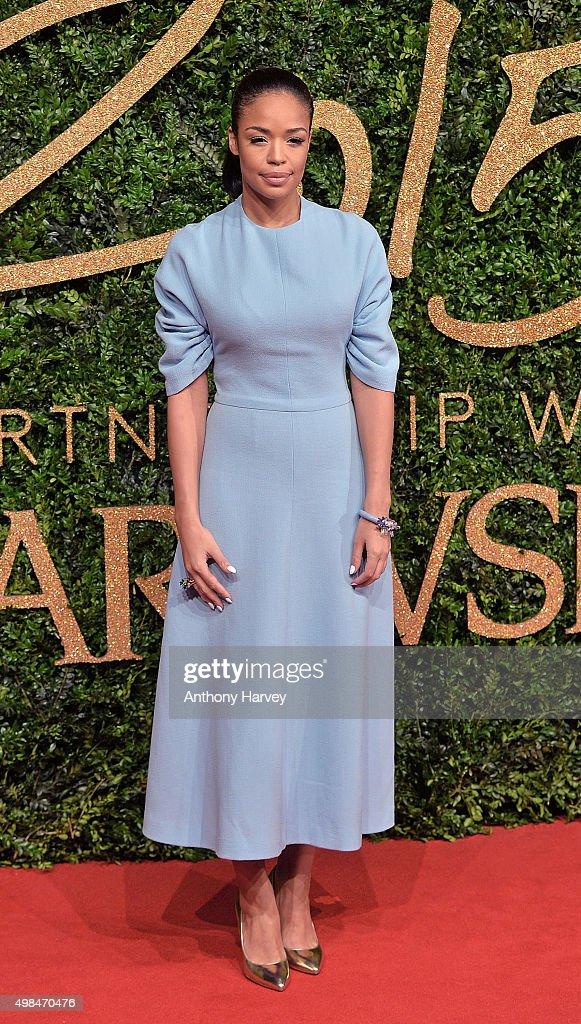 Sarah Jane Crawford attends the British Fashion Awards 2015 at London Coliseum on November 23 2015 in London England