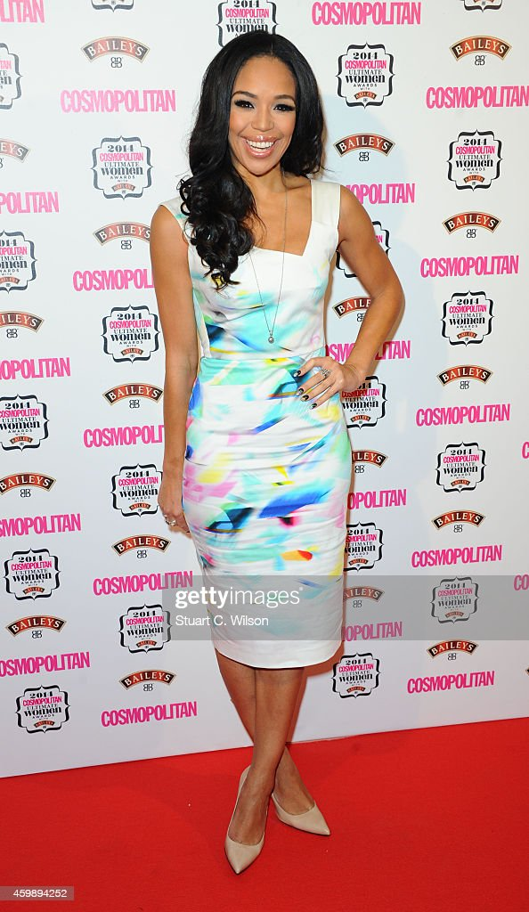 Sarah Jane Crawford attends the Cosmopolitan Ultimate Women of the Year Awards at One Mayfair on December 3 2014 in London England