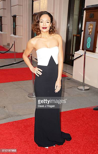 Sarah Jane Crawford attends the EE British Academy Film Awards at The Royal Opera House on February 14 2016 in London England