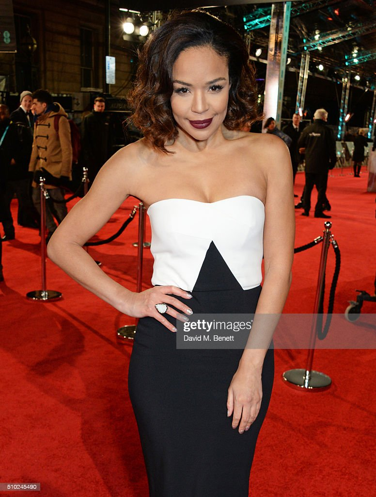 Sarah Jane Crawford attends the EE British Academy Film Awards at The Royal Opera House on February 14, 2016 in London, England.