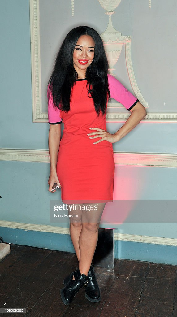 Sarah Jane Crawford attends the Juicy Couture Fall 2013 party at Home House on May 30, 2013 in London, England.