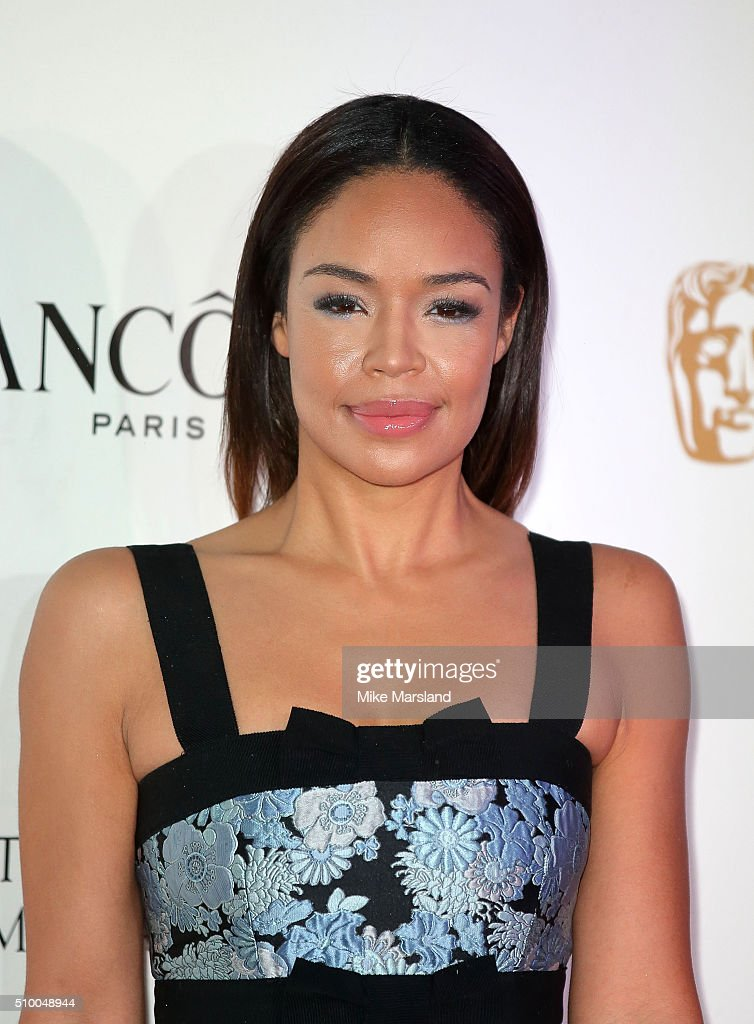 Sarah Jane Crawford attends the Lancome BAFTA nominees party at Kensington Palace on February 13, 2016 in London, England.