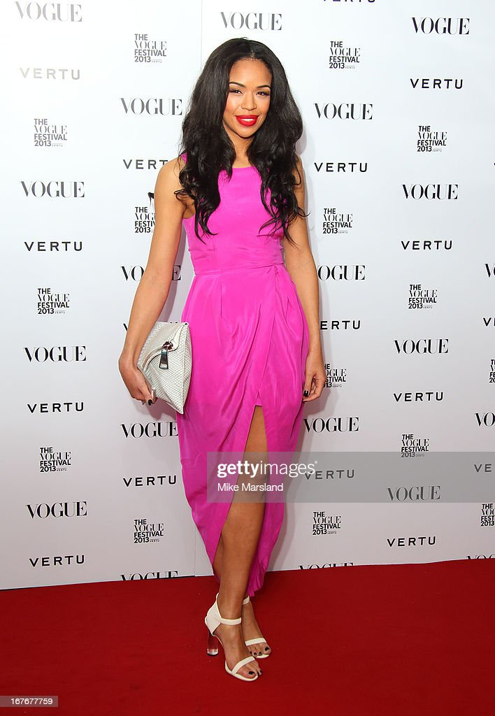 Sarah Jane Crawford attends the opening party for The Vogue Festival in association with Vertu at Southbank Centre on April 27, 2013 in London, England.
