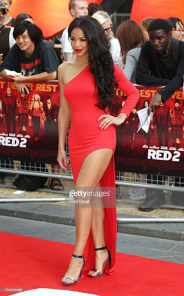 Sarah Jane Crawford attends the Red 2 Premiere at Empire Leicester Square on July 22, 2013 in London, England.