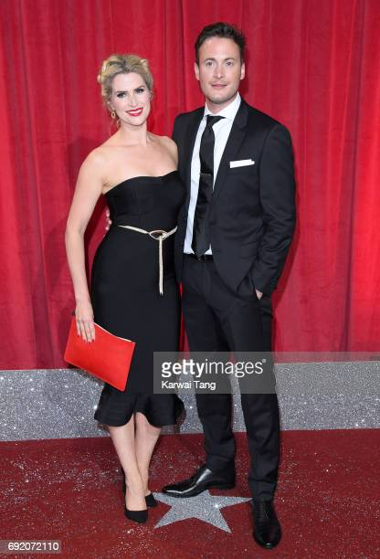 Sarah Jayne Dunn and Gary Lucy attend the British Soap Awards at The Lowry Theatre on June 3 2017 in Manchester England