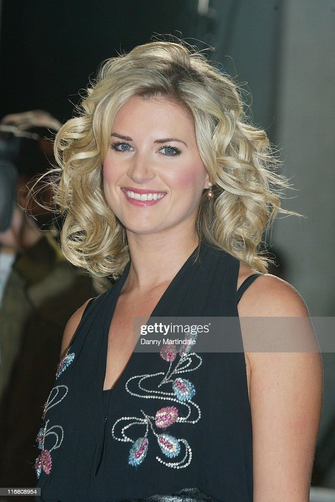 Sarah Jayne Dunn attends Another Audience With Al Murray The Pub Landlord held at the ITV Centre October 21 2007 in London England