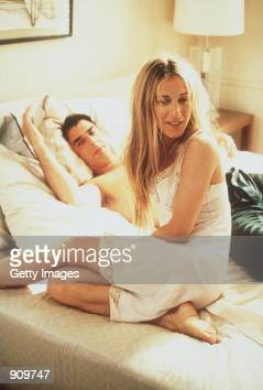 Sarah Jessica Parker and Chris Noth star in 'Sex And The City' 1999 Paramount Pictures