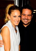 Sarah Jessica Parker and designer Narciso Rodriguez attend MercedesBenz Fashion Week at Lincoln Center on September 14 2010 in New York City