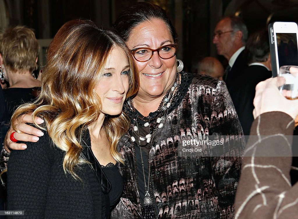 Sarah Jessica Parker and Fern Mallis attend the Guild Hall: Academy Of The Arts Lifetime Achievement Awards at The Plaza Hotel on March 4, 2013 in New York City.