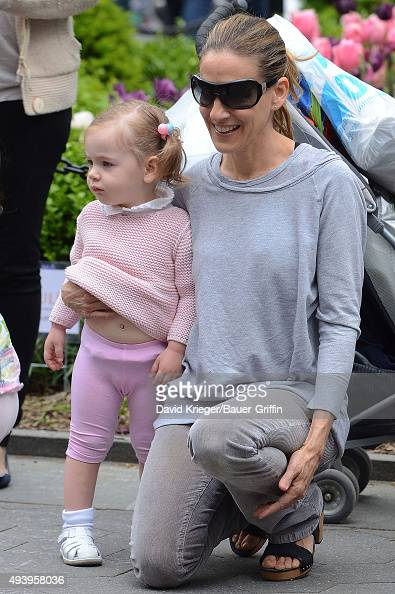 Sarah Jessica Parker and her daughter Marion Loretta Elwell are seen on May 07 2011 in New York City
