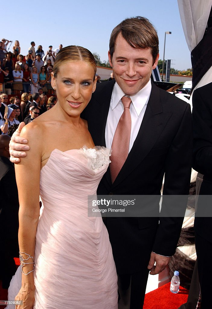 Sarah Jessica Parker and husband Matthew Broderick