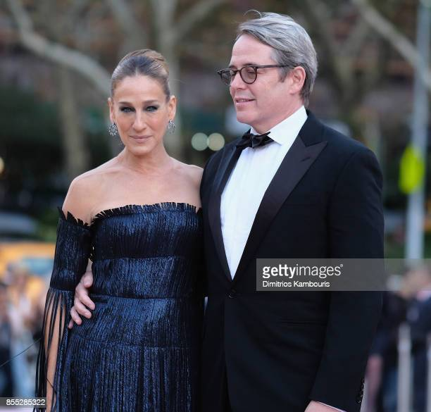 Sarah Jessica Parker and Matthew Broderick attend the New York City Ballet's 2017 Fall Fashion Gala at David H Koch Theater at Lincoln Center on...