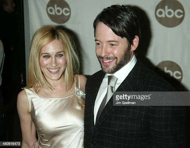Sarah Jessica Parker and Matthew Broderick during World Premiere of the ABC Original Made for Television Motion Picture Meredith Willson's The Music...