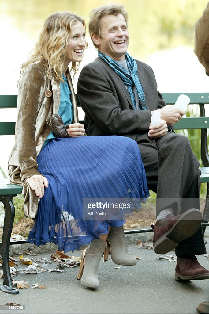 "On the Set of ""Sex And The City"" - October 16, 2003"