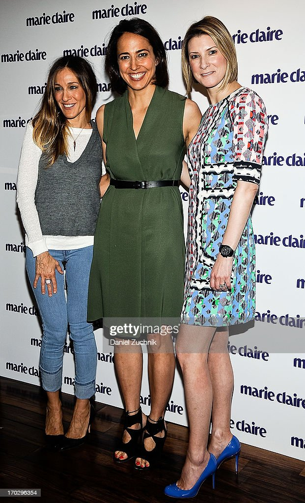 <a gi-track='captionPersonalityLinkClicked' href=/galleries/search?phrase=Sarah+Jessica+Parker&family=editorial&specificpeople=201693 ng-click='$event.stopPropagation()'>Sarah Jessica Parker</a>, <a gi-track='captionPersonalityLinkClicked' href=/galleries/search?phrase=Anne+Fulenwider&family=editorial&specificpeople=9477353 ng-click='$event.stopPropagation()'>Anne Fulenwider</a> and Lizzie Tisch attend the Women Taking The Lead Celebration at Marea on June 10, 2013 in New York City.