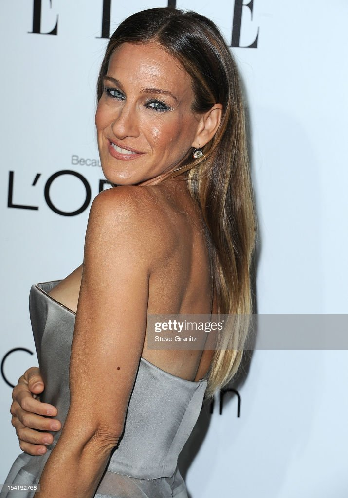<a gi-track='captionPersonalityLinkClicked' href=/galleries/search?phrase=Sarah+Jessica+Parker&family=editorial&specificpeople=201693 ng-click='$event.stopPropagation()'>Sarah Jessica Parker</a> arrives at the 19th Annual ELLE Women In Hollywood Celebration at Four Seasons Hotel Los Angeles at Beverly Hills on October 15, 2012 in Beverly Hills, California.