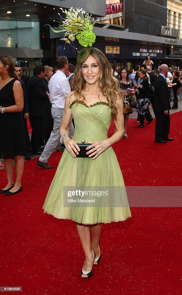 Sarah Jessica Parker arrives at the World Premiere of Sex And The City held at the Odeon Leicester Square on May 12 2008 in London England